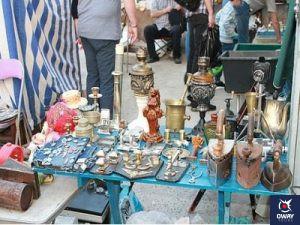 mercadillo de la Plaza Antonio Banderas de Marbella