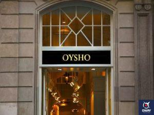 Oysho, tienda de ropa interior y deportiva, en Marbella