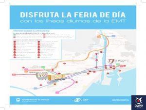 Carte de la foire (Malaga)