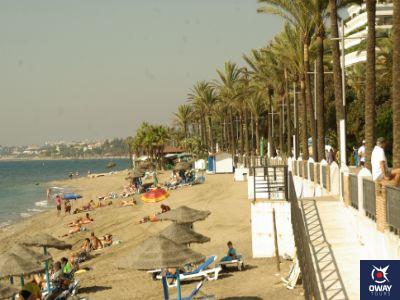 Playa La Fontanilla de Marbella