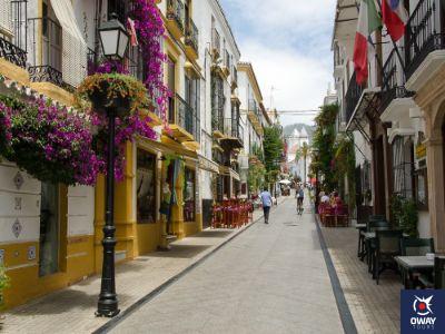 Calle del Antiguo pueblo de Pescadores de Marbella