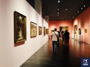 Interior Museum of Russian Art in Malaga