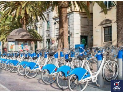 Alquiler de bicis en Málaga
