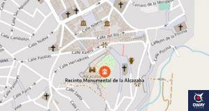 Cómo llegar a la Alcazaba de Antequera