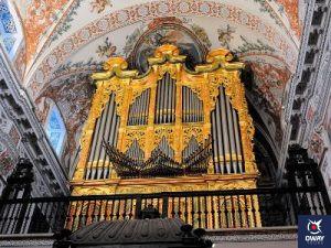Instrumento protagonista del Festival de Órgani del Hospital de los Venerables Sacerdotes de Sevilla