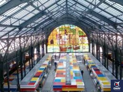 Interior del Mercado de Atarazanas de Málaga