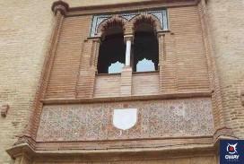 Main façade of the Mudejar Centre of Seville