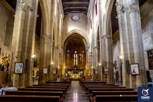 Interior Iglesia de Santa Marina
