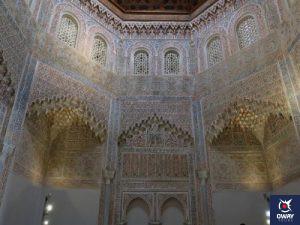 Decoration of the interior of the Madrasa of Granada