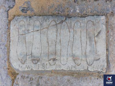Huellas de Gladiadores en Itálica, Sevilla