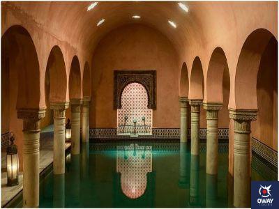 Interior baños árabes granáda