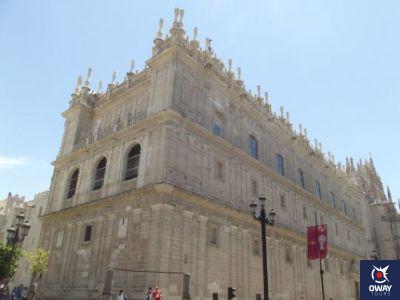 Esquina Catedral Calle Alemanes y Avenida de la Constitución en Sevilla