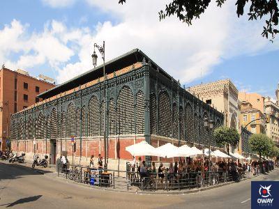 Exterior del Mercado de Atarazanas de Málaga