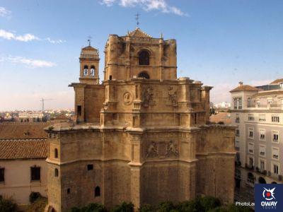 Vista aérea del Monasterio de San Jerónimo de Granada