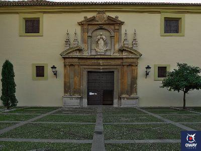 Portada del Monasterio de San Jerónimo en Granada