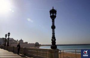 La promenade du front de mer Cadix