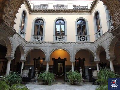 Patio el Palacio de la Condesa de Lebrija Sevilla