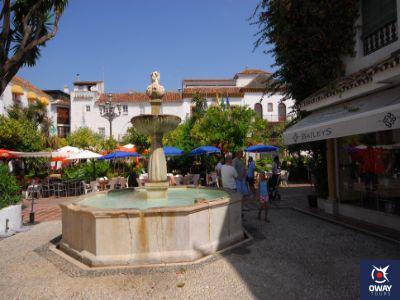 Plaza de los Naranjos de Marbella