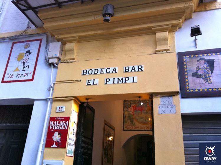 Bodega Bar El Pimpi, Málaga