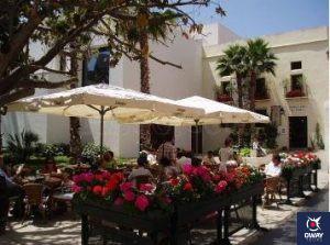Terraza del Pimpi Málaga