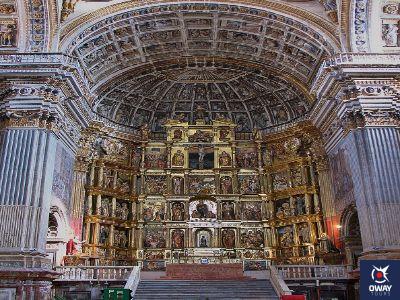 Retablo de la Iglesia del Monasterio de San Jerónimo en Granada