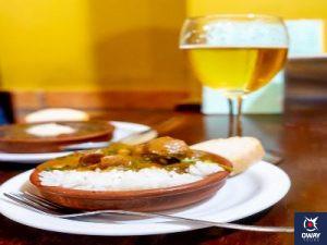 Drink plus tapa in Granada