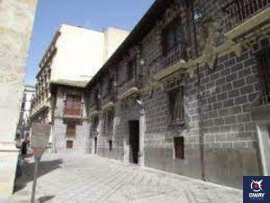 Entrada al Palacio de la Madraza