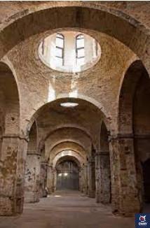 interior de la Real Fábrica de Artillería de Sevilla