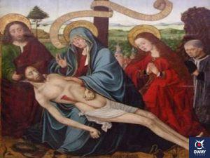 Una de las dos mil piezas de colección que forman el Museo de Bellas Artes en Granada