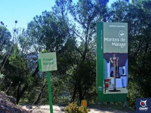 Hiking and biking routes in the Natural Park of Montes de Malaga