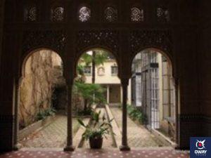 Los Cármenes de Granada, viviendas privadas.
