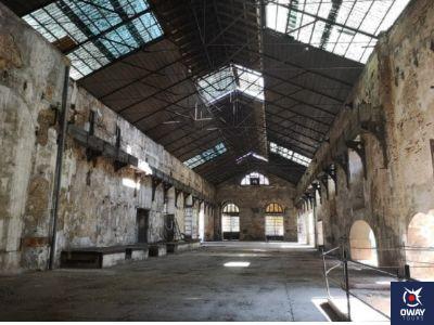 interior de la Fábrica de Artillería de Sevilla