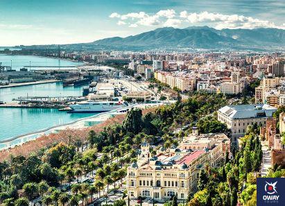 paisaje genérico de la ciudad (Málaga)