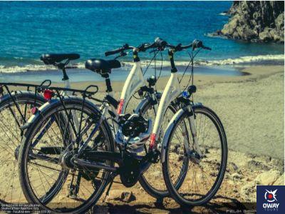 ruta en la playa de Málaga