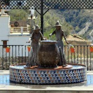 Plaza de las Brujas à Soportújar, dans l'Alpujarra