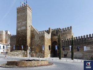 Alcázar de la Puerta Sevilla en Carmona