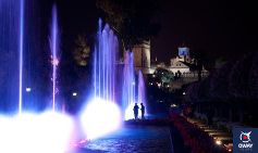Visiting the Alcazar de los Reyes Cristianos at night is a journey through the history of the city of Cordoba.