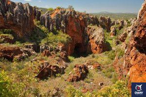 Cerro del Hierro 10 monumentos naturales de Andalucia