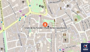 How to get to the Capuchinos Square Cordoba