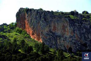 Falla de la Sierra del Camorro 10 monumentos naturales de Andalucia