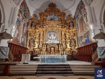 High altarpiece of the Church of San Francisco de Ecija