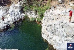L'étang des fiancés Malaga