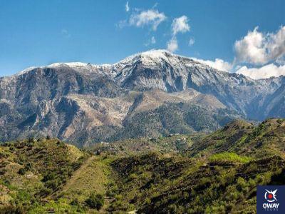 Les hauteurs du Pico Tejeda à Málaga