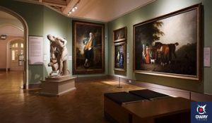 Le Museo Carmen Thyssen Málaga est l'un des plus remarquables et offre une importante collection d'art espagnol et andalou du XIXe siècle.
