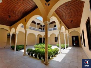 Patio Interior Museo Picasso en Málaga