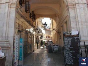 Interior del pasaje de Chinitas en Málaga