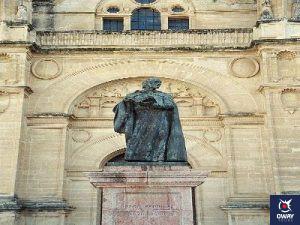 monumento pedro espinosa colegiata santa maria la mayor (Malaga)