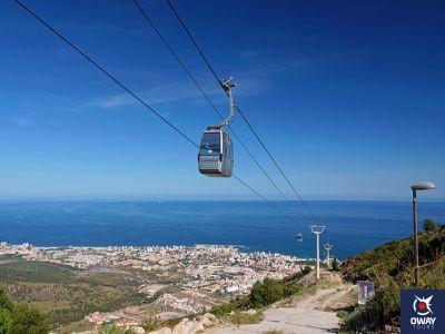 Téléphérique avec des vues incroyables à Malaga
