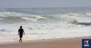 La plage de Mazagón est l'une des plus belles plages vierges de Huelva où vous trouverez une incroyable atmosphère de surf.