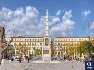 Plaza de la Merced en Málaga